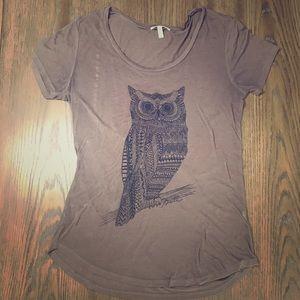 O'Neill sheer owl design T-shirt